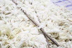 Laine de moutons Image libre de droits
