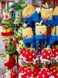 Laine de tricotage Photographie stock libre de droits