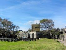 Laine historique la Virginie de fort Photos stock