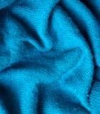 Laines bleues Image libre de droits