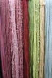 Laines colorées Photographie stock