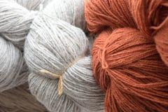 laines colorées photo stock