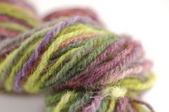 laines colorées de moutons Photos stock