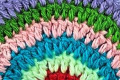 Laines de couleur Photo libre de droits