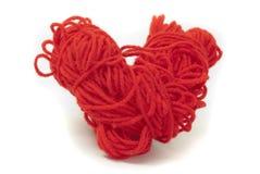 Laines de tricotage Photo libre de droits