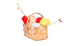 Laines de tricotage Image libre de droits