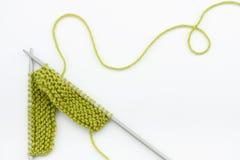Laines de tricotage Photographie stock