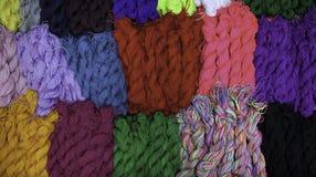 Laines de tricotage Photos stock