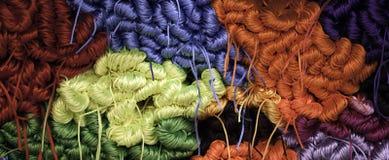 Laines de tricotage Photographie stock libre de droits