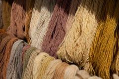 Laines multicolores Photo libre de droits