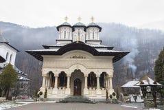 Lainici, monastero rumeno ortodosso Immagine Stock