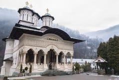 Lainici, monastero rumeno ortodosso Immagini Stock