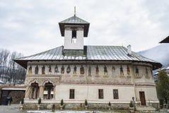 Lainici, monastero rumeno ortodosso Fotografia Stock Libera da Diritti