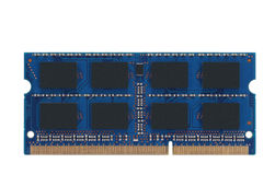 Laiptop memory module Royalty Free Stock Images