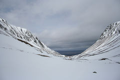 Lairig Ghru, Cairngorms Stock Image
