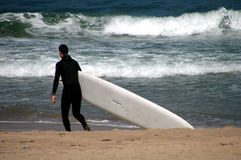 Laisse aller Surfin Photos stock