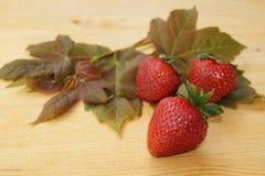 laisse des fraises Photo libre de droits