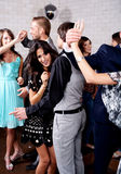 Laisse la danse Image libre de droits