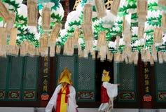 Laisser le temple photographie stock libre de droits