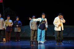 Laissez l'opéra honteux de Jiangxi d'adversaires une balance Photo stock