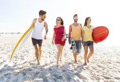 Laissez le ` s aller à la plage Photo stock