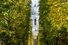 Laisves aleja, Kaunas, Lithuania Stock Image