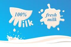 lait Photos libres de droits