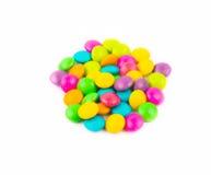 Lait chocolaté de casse-croûte coloré Images stock