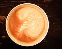 Lait d'Au de café Images libres de droits