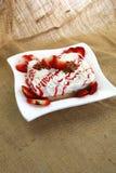 lait de 3 leches de dessert Images libres de droits
