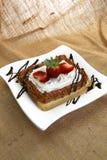 lait de 4 leches de dessert Photographie stock libre de droits