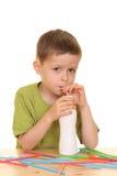 Lait de consommation/jogurt Image stock