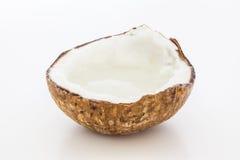 Lait de noix de coco Images libres de droits