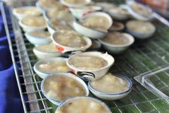 Lait de noix de coco de tasse Photo stock