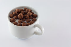 Lait et bonbons Image stock