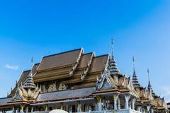 laithai dachowa nieba świątynia Zdjęcie Stock