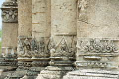 Laithai on pagoda Stock Photos