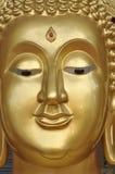 Laiton de nouveau visage de Bouddha Image stock
