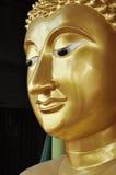Laiton de visage de Bouddha neuf Photos libres de droits