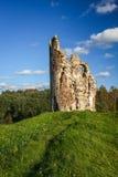 Laiuse Castle, Estonia. Ruined Laiuse Castle, still standing in Estonia Stock Photos