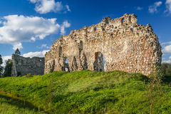 Laiuse Castle, Estonia. Ruined Laiuse Castle, still standing in the center of Estonia Royalty Free Stock Photos