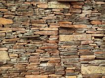 Laja stone wall background.  Royalty Free Stock Photography