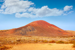 Lajares La Caldera mountain Fuerteventura Royalty Free Stock Photos