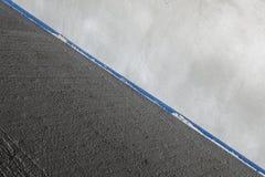 Laje de cimento e parede Foto de Stock