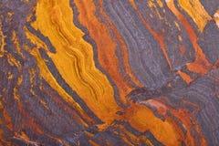 Laje de cobre do jaspe da montanha Fotografia de Stock
