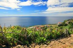 Lajes das Flores. Flores Island, Azores, Portugal, Europe Stock Images