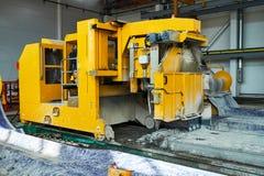 Lajes de cimento da fabricação produção do concreto reforçado fotografia de stock royalty free