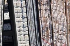 Lajes de mármore Foto de Stock