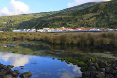 Lajes Village Stock Image