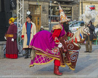 Lajkonik in krakow Stock Image